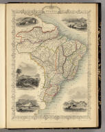 Brazil. The Illustrations by H. Winkles & Engraved by W. Lacey. The Map Drawn & Engraved by J. Rapkin.