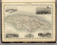 Jamaica. The Illustrations by H. Winkles & Engraved by W. Lacey. The Map Drawn & Engraved by J. Rapkin.
