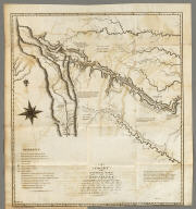 A Chart of the Internal Part of Louisiana, Including all the hitherto unexplored Countries, lying between the River La Platte of the Missouri on the N: and the Red River on the S: the Mississippi East and the Mountains of Mexico West, with a Part of New Mexico & the Province of Texas by Z.M. Pike Captn. U.S.I.