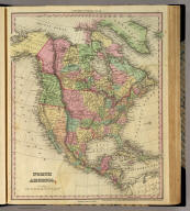 North America. Entered ... 1836 by H.S. Tanner ... Pennsylvania. Philadelphia: Published by H.S. Tanner. (above neat line) Tanner's Universal Atlas.