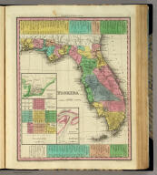Florida. (with) three inset maps: Pensacola, Tallahassee, Harbour of St. Augustine. Entered ... 1833 by H.S. Tanner ... Pennsylvania. Published by H.S. Tanner Philadelphia. (above neat line) Tanner's Universal Atlas.