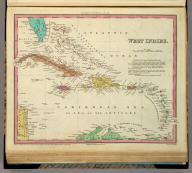 West Indies. Engraved by J. Knight. Entered ... 1834 by H.S. Tanner ... Pennsylvania. Philadelphia Published by H.S. Tanner. (above neat line) Tanner's Universal Atlas.