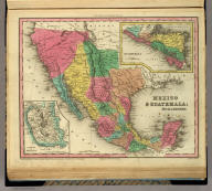 Mexico & Guatemala: By H.S. Tanner. (with) two inset maps: Guatemala and Valley of Mexico. Engraved by J. Knight. Entered ... 1834 by H.S. Tanner ... Pennsylvania. Philadelphia Published by H.S. Tanner. (above neat line) Tanner's Universal Atlas.
