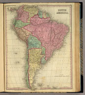 South America. Published by H.S. Tanner, Philadelphia. Entered ... 1834 by H.S. Tanner ... Pennsylvania. (above neat line) Tanner's Universal Atlas.