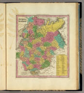 Russia In Europe. Philadelphia: Published by H.S. Tanner. (above neat line) Tanner's Universal Atlas.