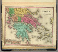 Greece. (with) Candia. Engraved by J. Knight. Entered ... 1834, by H.S. Tanner ... Pennsylvania. Philadelphia Published by H.S. Tanner. (above neat line) Tanner's Universal Atlas.
