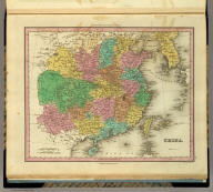 China. Engraved by E.B. Dawson. Philadelphia, Published by H.S. Tanner. (above neat line) Tanner's Universal Atlas.