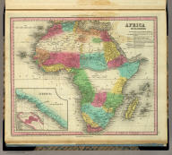 Africa. By H.S. Tanner. (with) Liberia. (with) inset map of Monrovia. Entered ... 1834, by H.S. Tanner ... Pennsylvania. Philadelphia: Published by H.S. Tanner. (above neat line) Tanner's Universal Atlas.