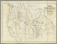 Map of Oregon, California, New Mexico, N.W. Texas & the proposed Territory of Ne-Bras-Ka. By Rufus B. Sage. 1846. F. Michelin's Lith. 111 Nassau St. N.Y.