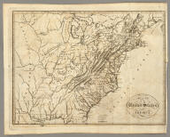 Map of the United States of America. J. Melish del. H.S. Tanner Sc.