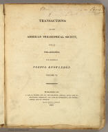 Title Page: Observations on the geology of the United States.