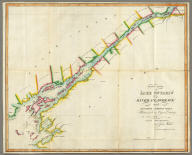 East End of Lake Ontario and River St. Lawrence From Kingston to French Mills Reduced from an Original Drawing in the Naval Department by John Melish.