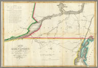 Map of the River St. Lawrence and Adjacent Country From Williamsburg to Montreal from and Original Drawing in the War Department.