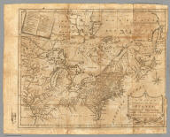 A Map of the Northern and Middle States, Comprehending the Western Territory and the British Dominions in North America. Compiled from the best Authorities. Delineated & Engrav'd for Morse's Geography by Amos Doolittle, New Haven.
