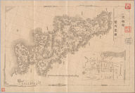 Kyoto-fu kannai ryakuzu. after 1868