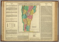 Geographical, Historical, And Statistical Map Of Vermont. Vermont. No. 15. Drawn by F. Lucas Jr. Engrav'd by Young & Delleker.