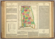 Geographical, Historical, And Statistical Map Of Alabama. Alabama. No. 30. Drawn by F. Lucas Junr. B. Tanner Sc.