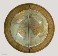 Rand, McNally & Co's. New Eighteen Inch Terrestrial Globe ... Copyright, 1894, by Rand, McNally & Co.