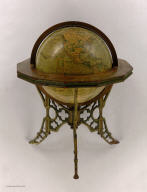 Andrews Eight Inch Terrestrial Globe.