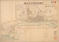 Heijo Chinnanpo shigai zenzu. [after 1868]