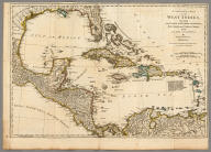 A Compleat Map of the West Indies, Containing the Coasts of Florida, Louisiana, New Spain, and Terra Firma: with all the Islands. By Samuel Dunn, Mathematician. London: Printed for Robt. Sayer ... 10 January 1774.