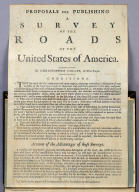 Text Page: A survey of the roads of the United States of America.