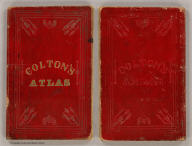 (Covers to) Subscribers to Colton's American Atlas and Atlas of The World. New York: J.H. Colton and Company. London: Trubner and Company. (Leather bound subscription book issued by Colton for his salesmen).