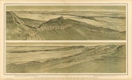 Views of the Marble Canon Platform from the eastern brink of the Kabib. W(illiam) H. H(olmes). Atlas Sheet XIX. Julius Bien & Co. lith. U.S. Geological Survey, Geology of the Grand Canon District.