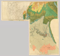(Composite) Geologic Map Sheets XX-XXIII. Geology by C.E. Dutton. Julius Bien & Co. lith. U.S. Geological Survey, Geology of the Grand Canon District.