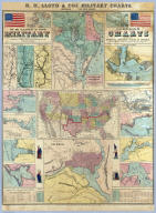 H.H. Lloyd & Co's Campaign Military Charts Showing The Principal Strategic Places Of Interest.