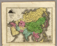 Asia. Engraved by E.F. Woodward.