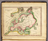 Elementary Map. Published 1st June 1816 by J. Melish, Philadelphia. H.S. Tanner sc.