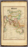 Asia &c. No. VII. (Published 1st June 1816 by J. Melish. Philadelphia. Improved to 1820.) H.S. Tanner Sc.