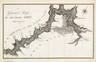 A General Map of the River Ohio, Plate the first. Grave par Tardieu l'aine. PL. 8.