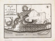 Plan of St. Lewis With the Project of an intrenched Camp French. Grave par Tardieu l'aine. PL. 27.