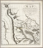 Map of the Missouri; of the higher parts of the Mississippi.