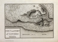 Town and Fort of Natchez.
