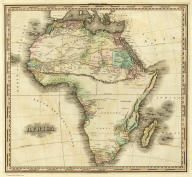 Africa. Engraved & Published by H.S. Tanner. Philadelphia. American Atlas.