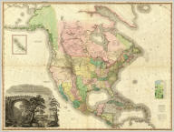 (Composite of) A Map of North America, Constructed According To The Latest Information: by H.S. Tanner. S.E. Sheet. Entered ... 27th day of May 1822, by H.S. Tanner ... Pennsylvania. Engraved & Published by H.S. Tanner. Philadelphia. 1822. Printed by Wm. Duffee. American Atlas.