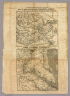 Map of New Orleans and Surrounding Country. (with) The Lower Potomac. New York Herald War Maps and Diagrams. (Page) 8.