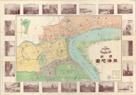 Saishin Shanhai chizu = The New Map of Shanghai City / Tanioka Shigeru. Meiji 41 [1908]