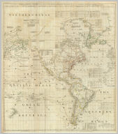(Composite of) A Chart of North and South America, including the Atlantic and Pacific Oceans ... (with) Chart containing the Coasts of California, New Albion, and Russian Discoveries to the North ... (with) Chart containing the greater part of the South Sea to the South of the Line ... Publish'd ... 10 June 1775, by Robt. Sayer & J. Bennett ... Fleet Street. No. II., IV., VI.