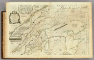 An Exact Chart of the River St. Laurence, from Fort Frontenac to the Island of Anticosti shewing the Soundings, Rocks, Shoals &c with Views of the Lands and all necessary Instructions for navigating that River to Quebec. To the Rt. Honble. Fn. Montagu El. of Sandwich, First Lord Commisioner to the other Honble. Commissioners for executing the Office of Lord High Admiral of Great Britain. This Chart is most Humbly Inscribed By their Lordships most Obedient most devoted Humble Servt. Thos. Jefferys. (with) Six inset maps [described in notes field]. London. Printed for Robt. Sayer ... 25 May, 1775.