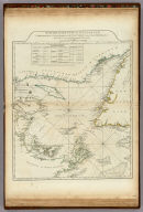 A Chart Of The Gulf Of St. Laurence, Composed From A Great Number Of Actual Surveys And Other Materials, Regulated and Connected by Astronomical Observations. London. Printed & Sold by Robt. Sayer & Jn. Bennett ... 25th March 1775.