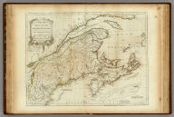 A New Map of Nova Scotia, and Cape Breton Island with the adjacent parts of New England and Canada, Composed from a great number of actual Surveys, and other materials Regulated by many new Astronomical Observations of the Longitude as well as Latitude, by Thomas Jefferys, Geographer to the King. London. Printed & Sold by R. Sayer & J. Bennett ... 15 June 1775.
