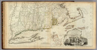 A Map of the most Inhabited part of New England, containing the Provinces of Massachusetts Bay and New Hampshire, with the Colonies of Conecticut And Rhode Island, Divided into Counties and Townships: The Whole composed from Actual Surveys and its Situation adjusted by Astronomical Observations. (with) A Plan of Boston Harbor from an Accurate Survey. November 29th 1774. Published according to Act by Thos. Jefferys Geographer to His Royal highness the Prince of Wales near Charing Cross. (Southern section)