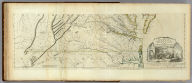 A Map of the most Inhabited part of Virginia containing the whole province of Maryland with Part of Pensilvania, New Jersey and North Carolina. Drawn by Joshua Fry & Peter Jefferson in 1775. Printed for Robt. Sayer ... London. (Southern Section)