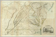 (Composite of) A Map of the most Inhabited part of Virginia containing the whole province of Maryland with Part of Pensilvania, New Jersey and North Carolina. Drawn by Joshua Fry & Peter Jefferson in 1775. Printed for Robt. Sayer ... London.