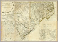 (Composite of) An Accurate Map Of North And South Carolina With Their Indian Frontiers, Shewing in a distinct manner all the Mountains, Rivers, Swamps, Marshes, Bays, Creeks, Harbours, Sandbanks and Soundings on the Coasts, with The Roads and Indian Paths, as well as The Boundary or Provincial Lines, The Several Townships and other divisions of the Land In Both The Provinces, the whole From Actual Surveys By Henry Mouzon And Others. London. Printed for Robt. Sayer and J. Bennett ... May 30th 1775.