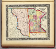 Minnesota, And Dacotah. 35. Entered ... 1860, by S. Augustus Mitchell, Jr. ... Pennsylvania.